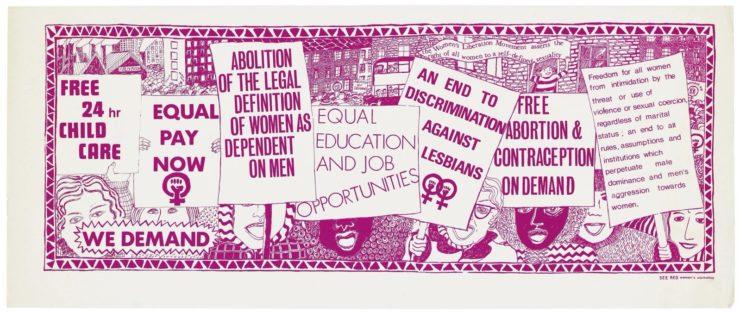 British IWD Poster 1974