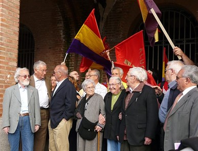 Tribute to Antifrancoist political prisoners in the infamous Carabanchel Prison